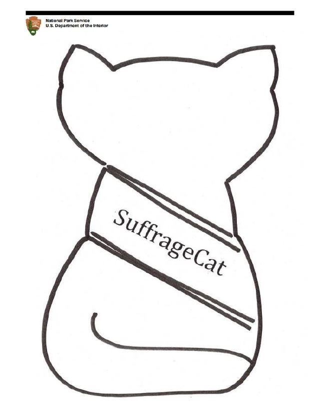 Suffrage Cat Image