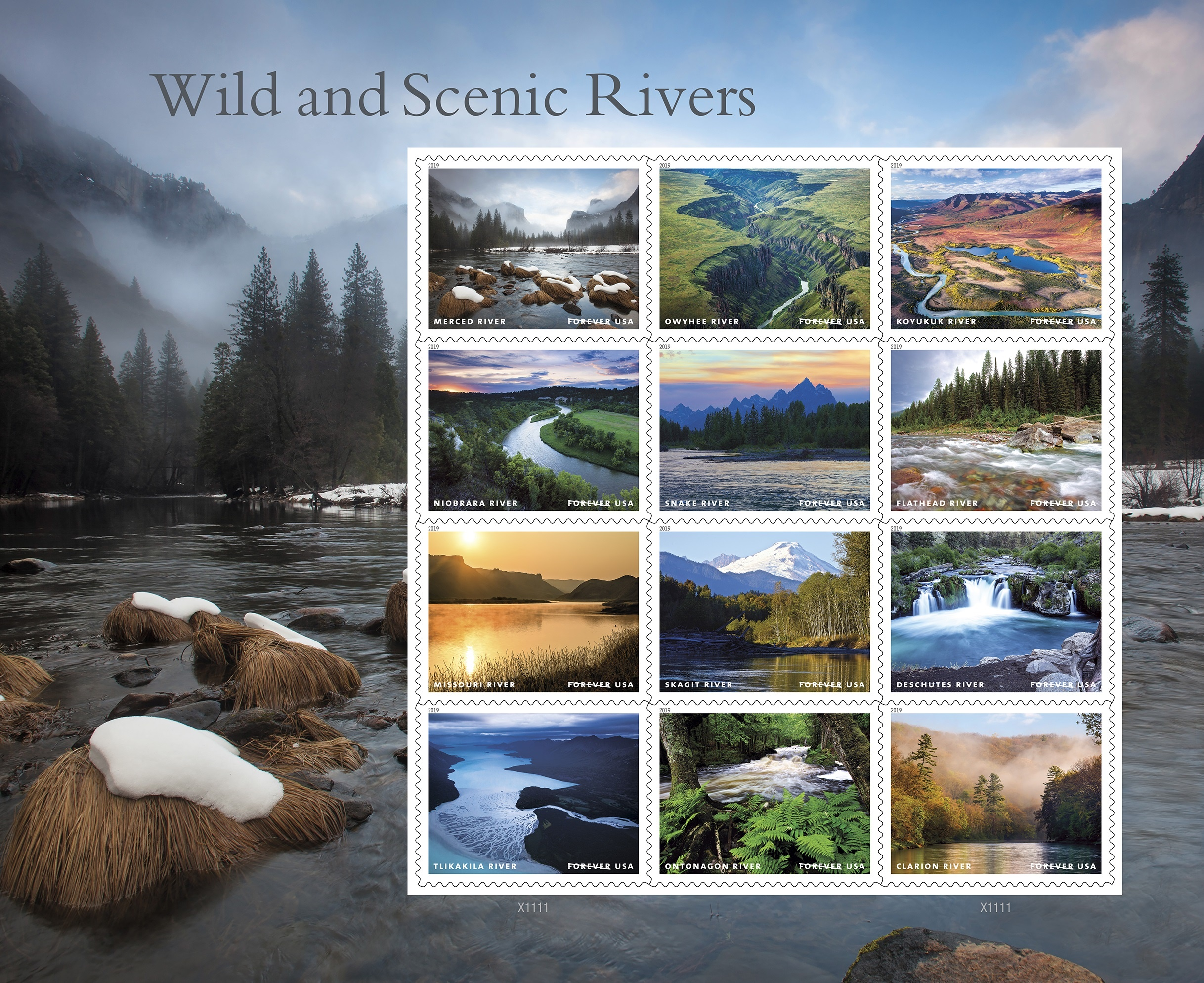 New Postage Stamps Spotlight the Natural Beauty of America's