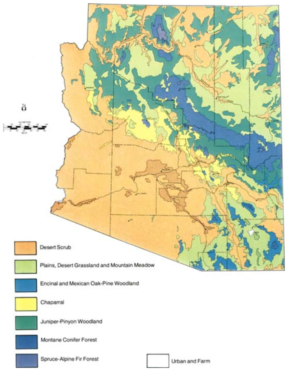 Map Of Arizona Fires 2015.Sky Island Fire Ecology U S National Park Service