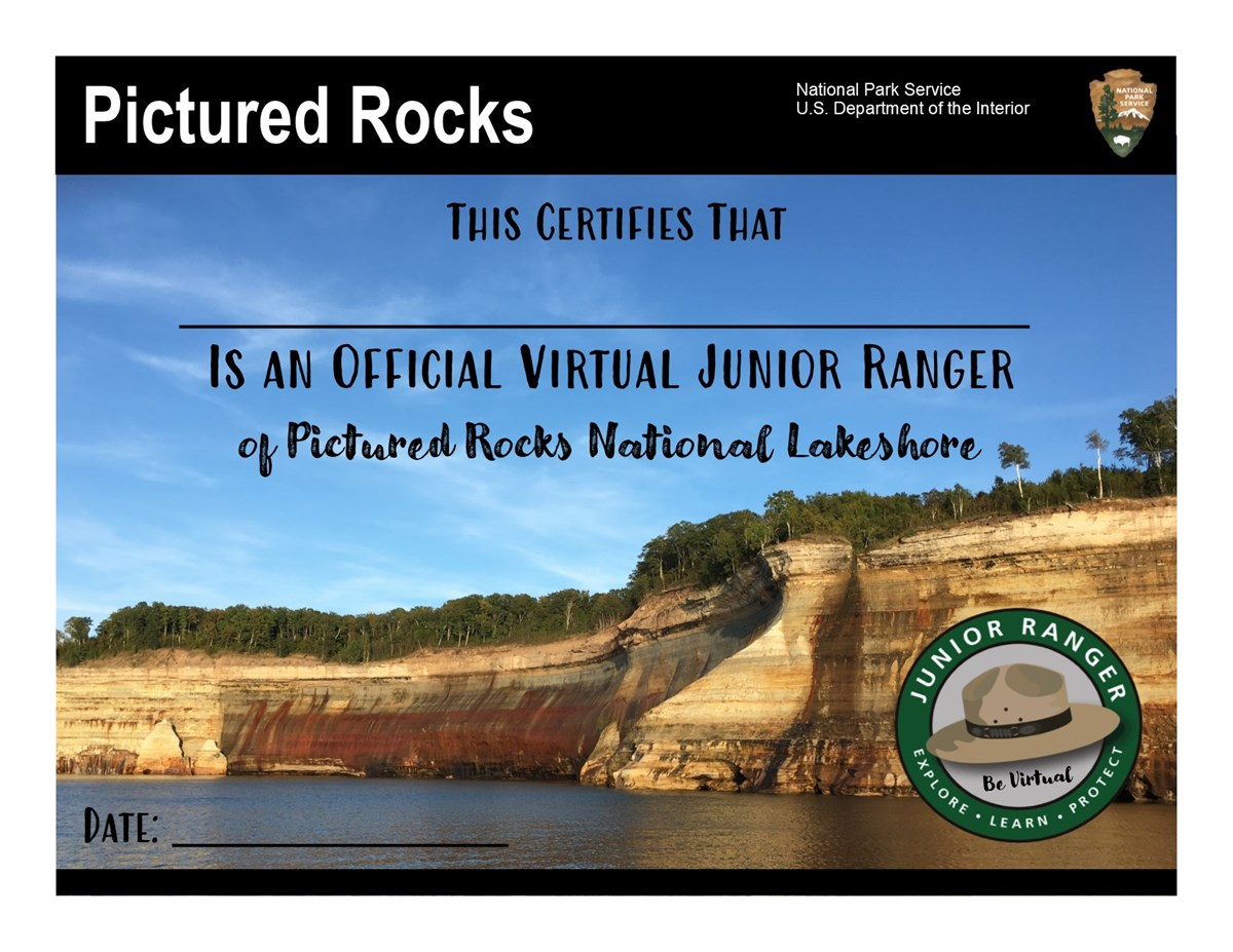 Virtual Junior Ranger Certificate