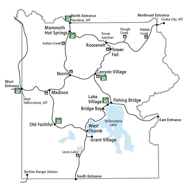 Electric Vehicles in Yellowstone (U.S. National Park Service)