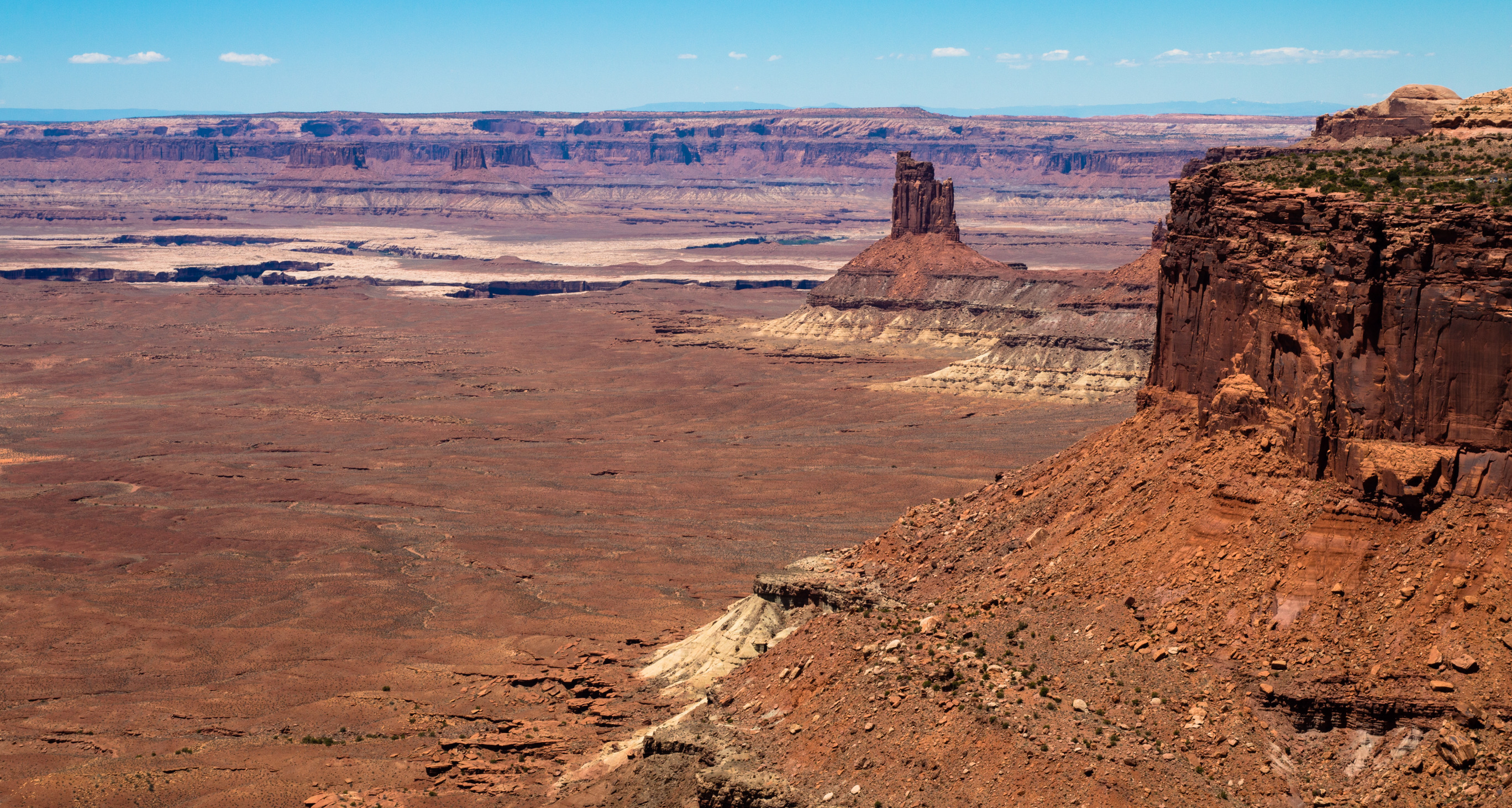 Landscape view of Canyonlands National Park