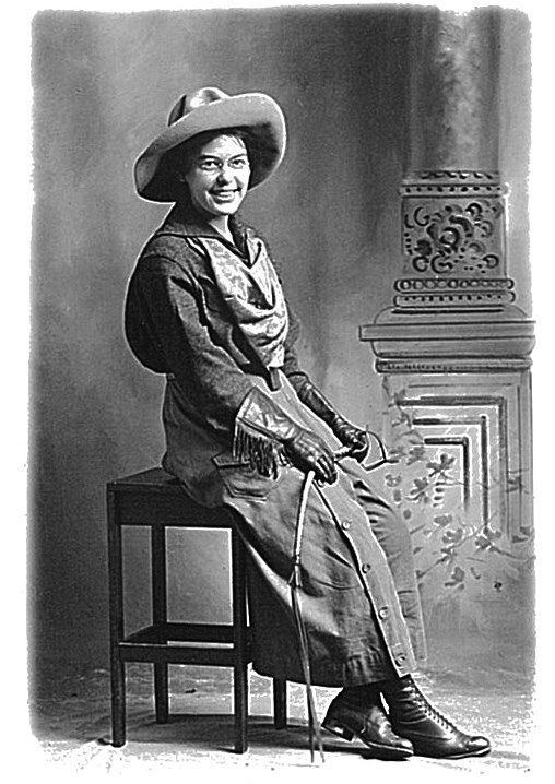 Portrait of Claire Marie Hodges, first NPS ranger