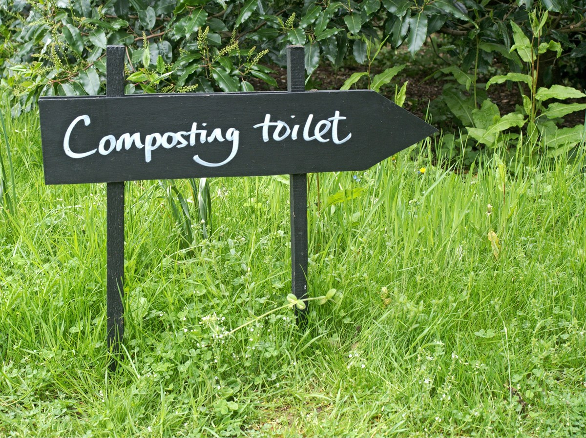 Camping Composting Toilet : Consider composting toilets u.s. national park service