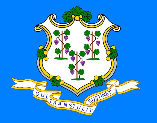 State flag of Connecticut, CC0.