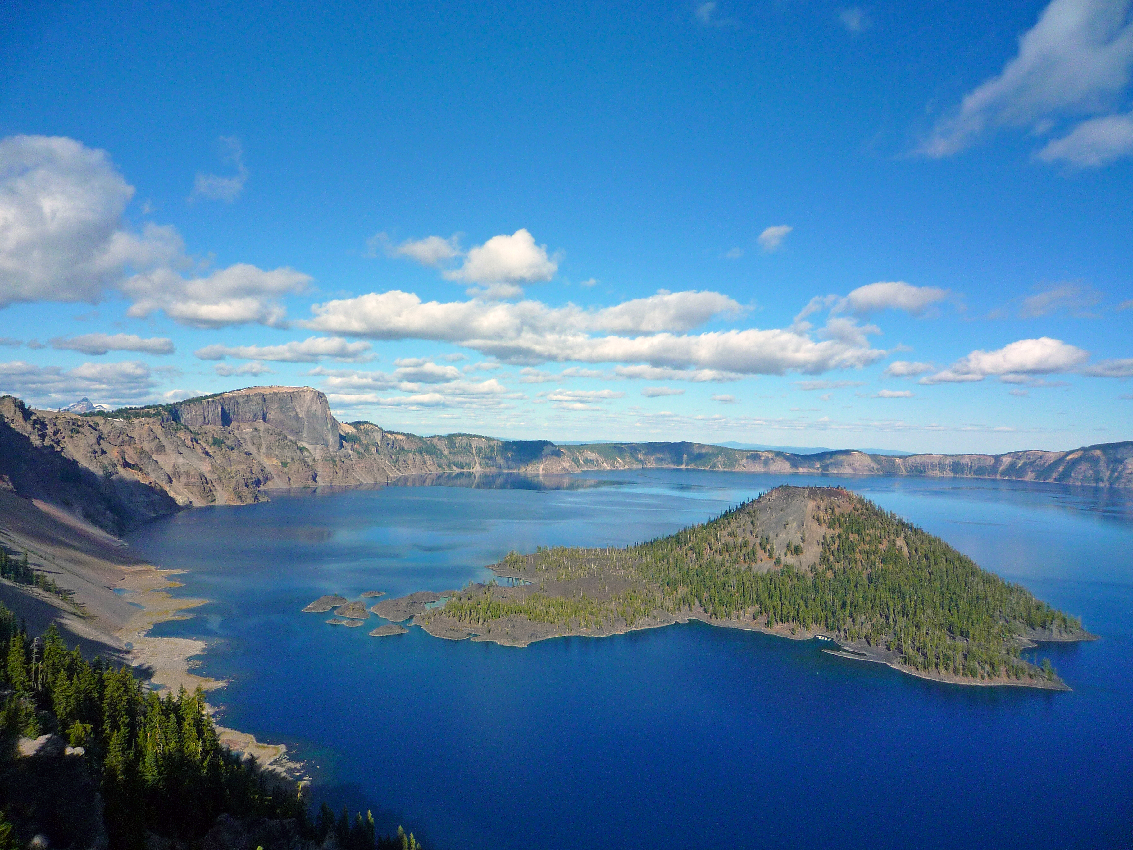 Scenic view in Crater Lake NP