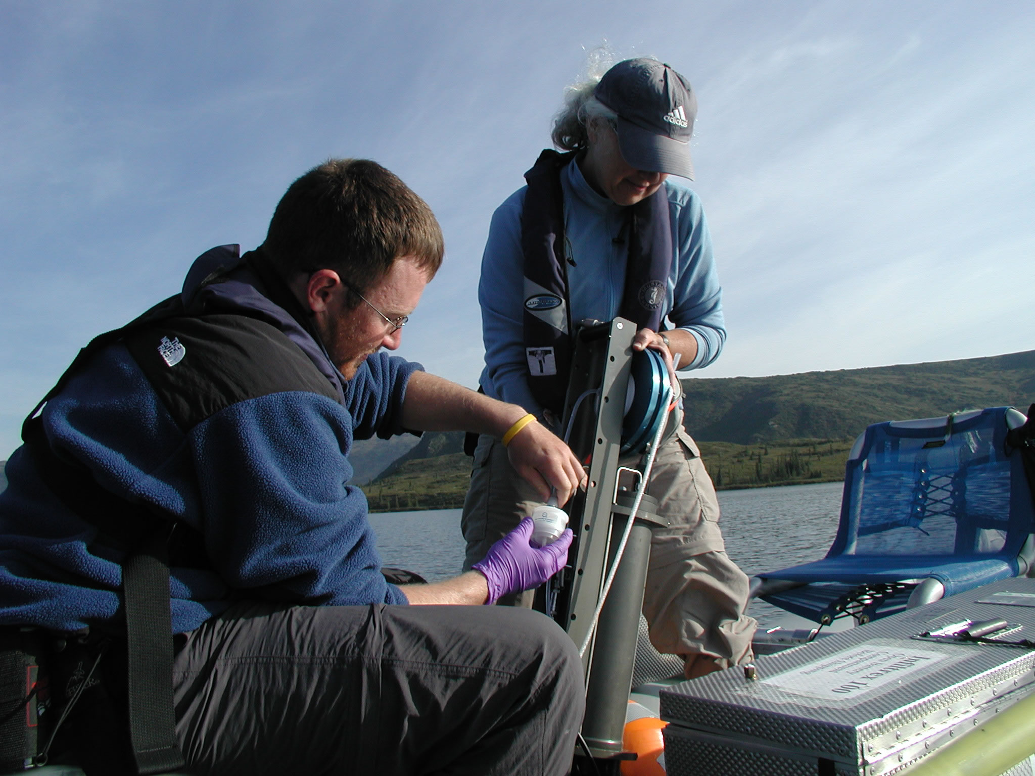 Sample collection from Denali National Park and Preserve, Alaska.
