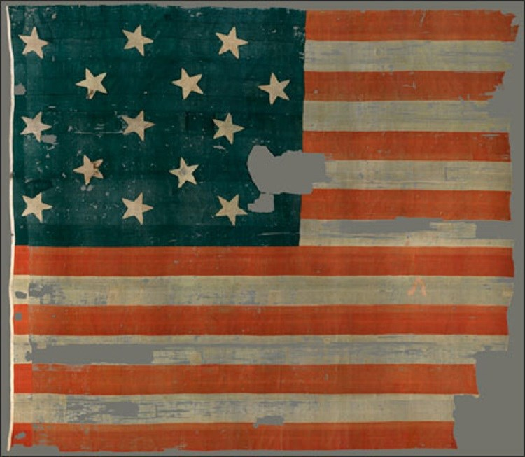 The Star-Spangled Banner Today(Courtesy of the National Museum of American History, Smithsonian Institution)