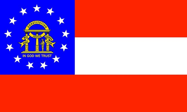 State flag of Georgia, CC0.