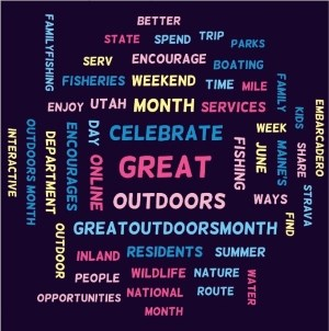 words describing the great outdoors