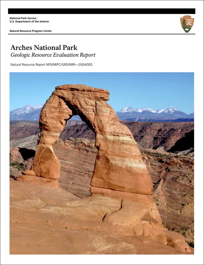 arches report cover with landscape image