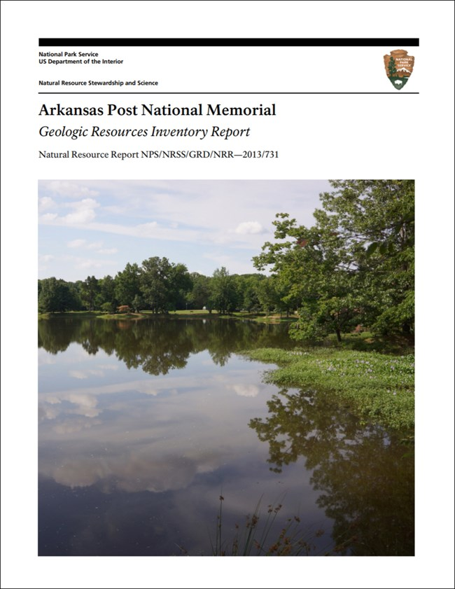 arkansas post report cover with landscape image
