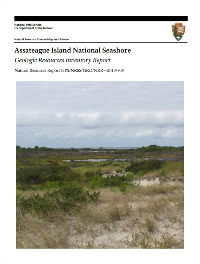 assateague island gri report with coastline image