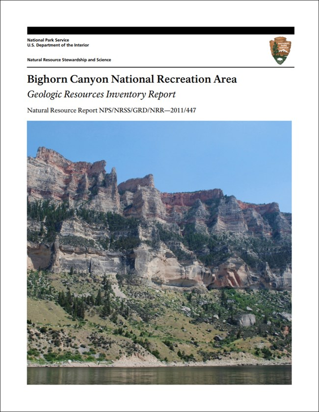 bighorn canyon report cover with landscape image
