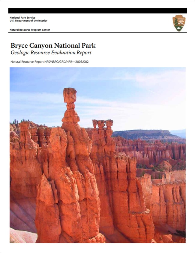 bryce canyon report cover with hoodoo photo