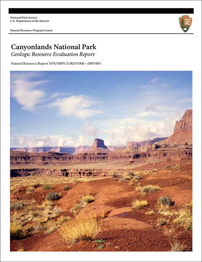 canyonlands report cover with desert landscape image