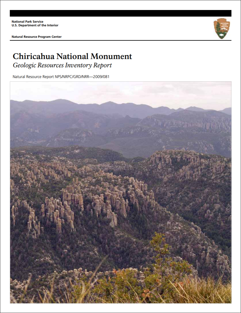 What is the reserve and national parks General characteristics and distinctive features