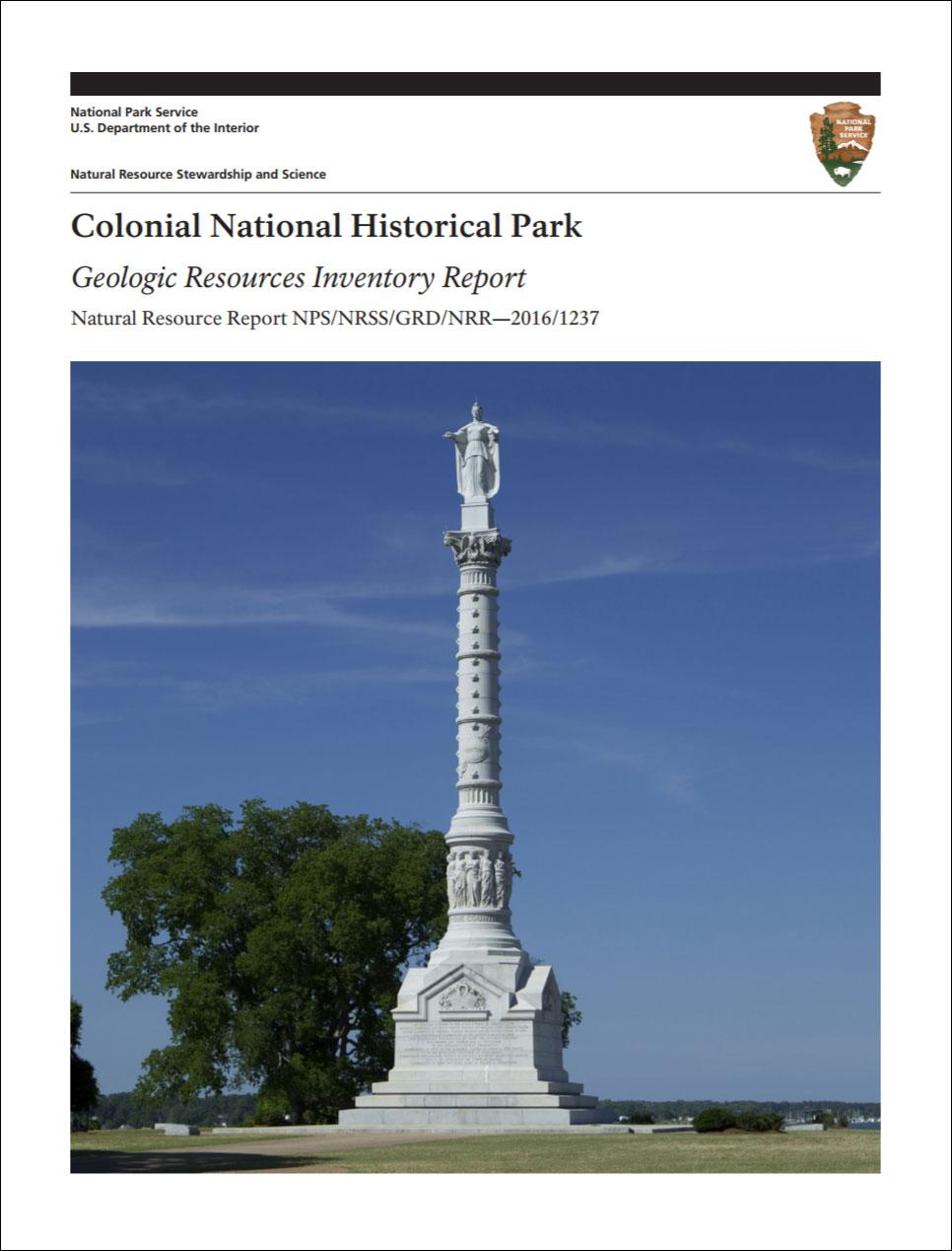 Colonial Development Service : Nps geodiversity atlas—colonial national historical park