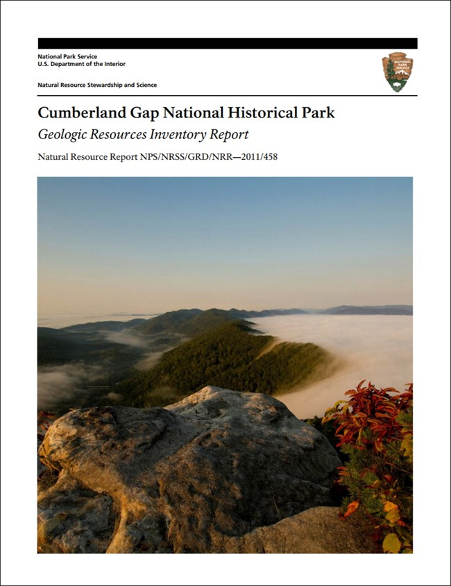 cumberland gap report cover with landscape image