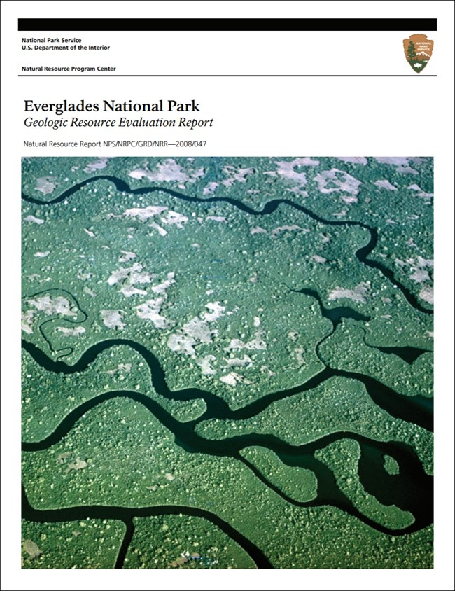 everglades report cover with landscape image