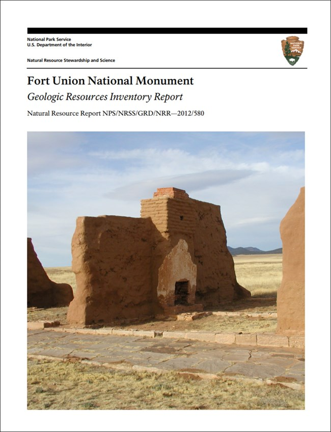 fort union gri report cover with image of ruins