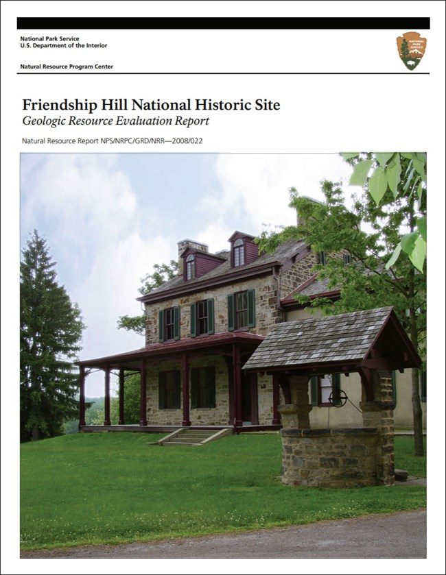 gri report cover with photo of historic house