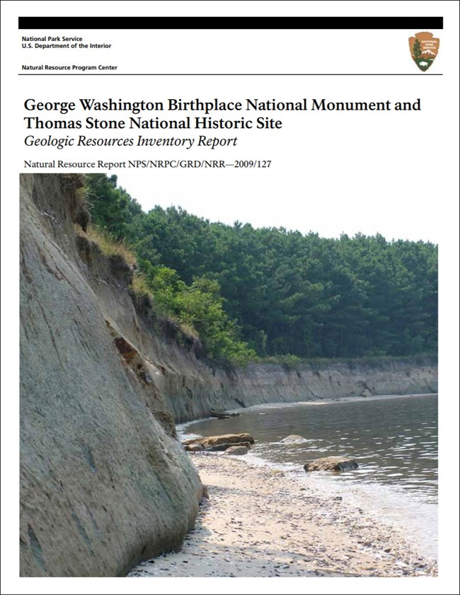 gri report cover with photo of shoreline bluff