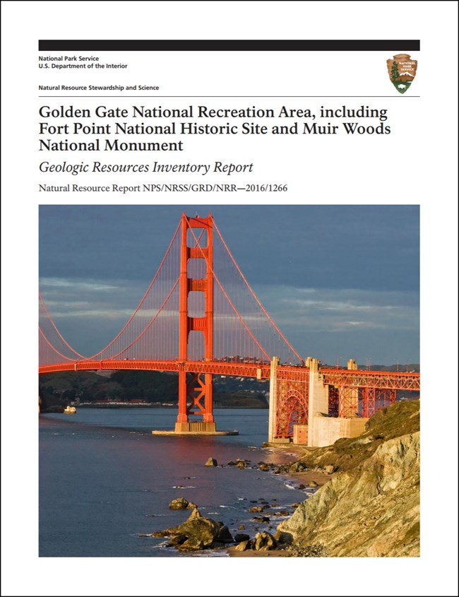 golden gate report cover with bridge image