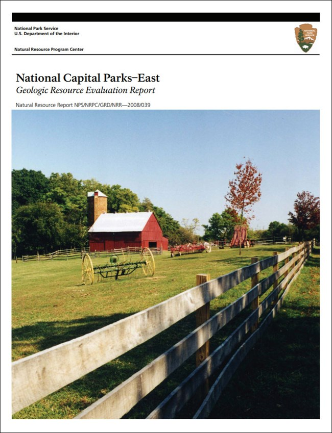 image of park gri report cover with photo of barn and fence