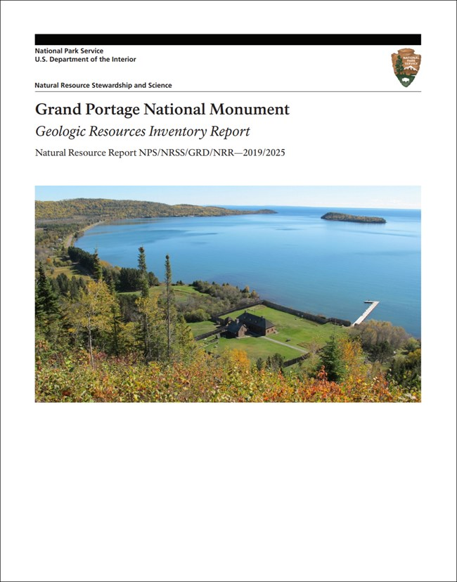 cover of gri report with photo of lake and shoreline