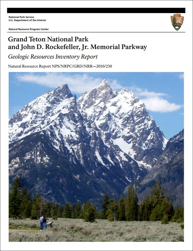 grand teton report cover with landscape image