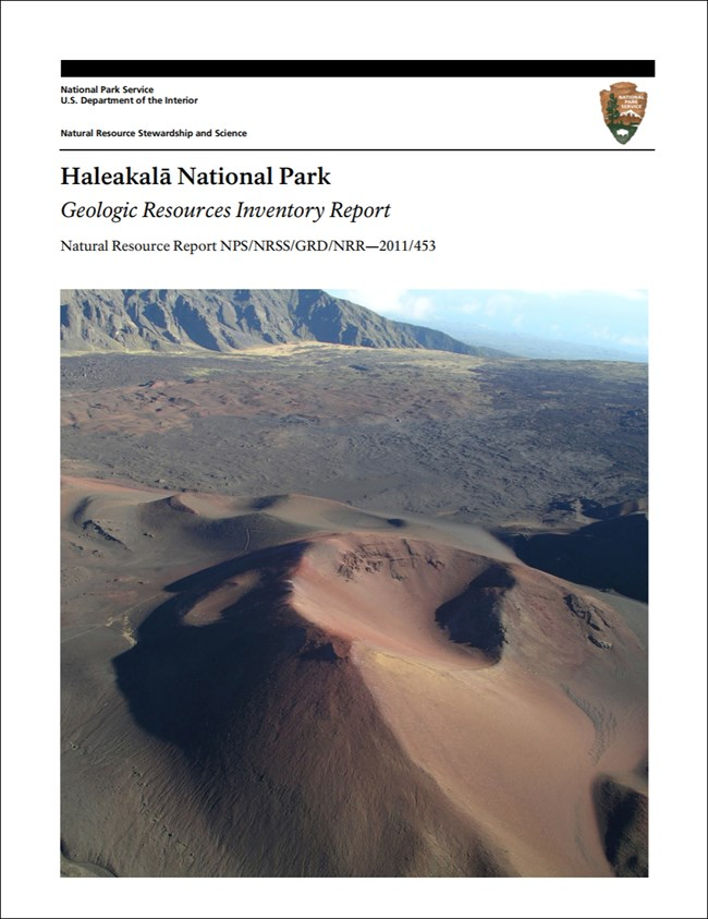 haleakala report cover with landscape image