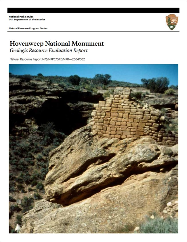 image of hovenweep report cover with ruins image