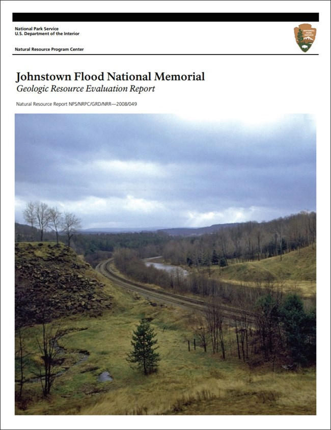 gri report cover with image of dam remains