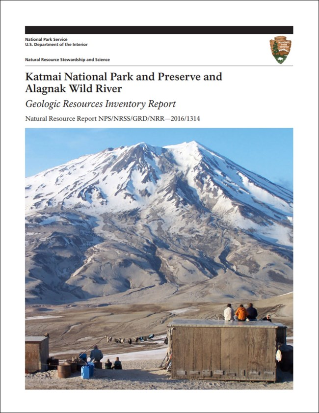 gri report cover with photo of mountain peak