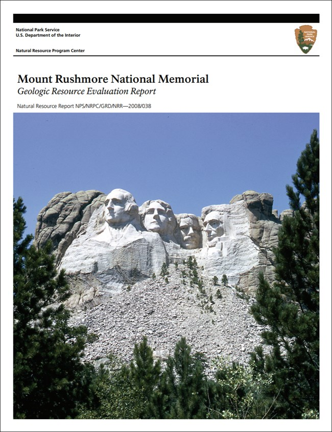 image of mount rushmore report cover with sculpture image