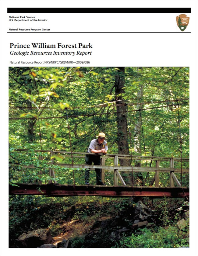 gri report cover with photo of ranger on bridge