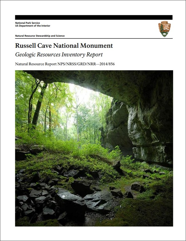 gri report cover with photo of cave entrance