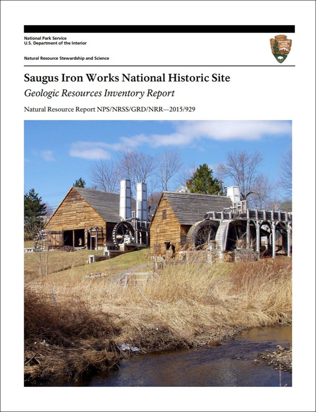 gri report cover with photo of mill buildings