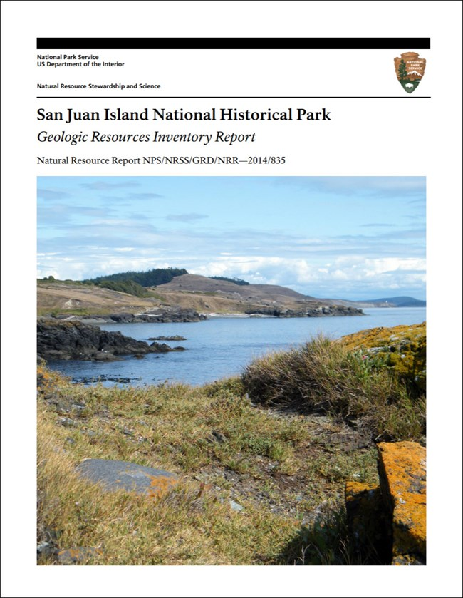 image of park gri report cover with photo of shoreline