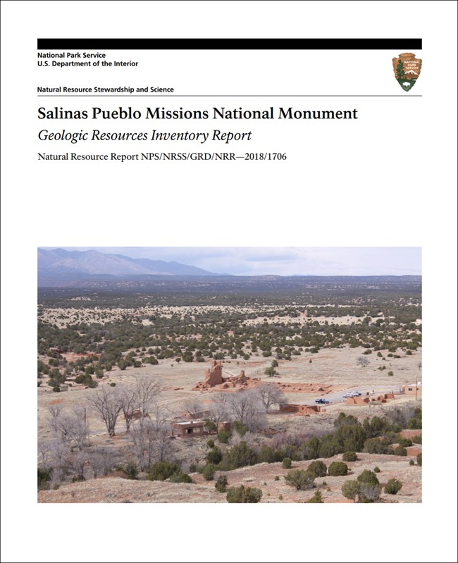 cover of gri report with photo of valley and ruins