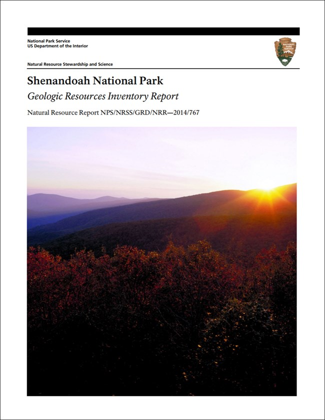 image of shenandoah report cover with landscape photo