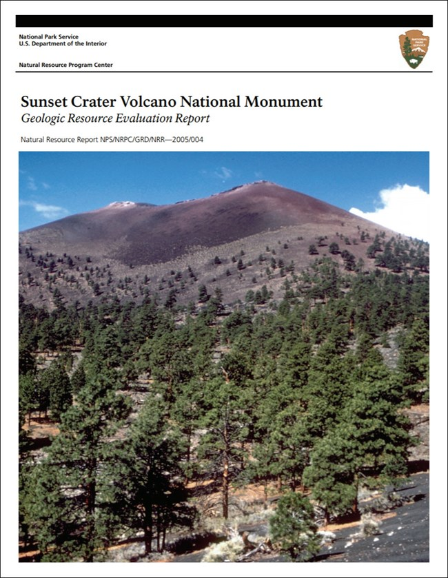 image of gri report cover with photo of volcano