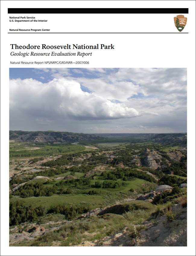 Theodore Roosevelt National Park report cover with landscape image