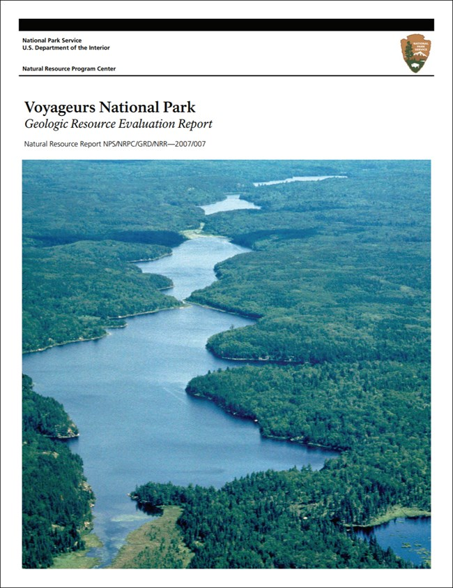 image of voyageurs gri report cover with landscape photo