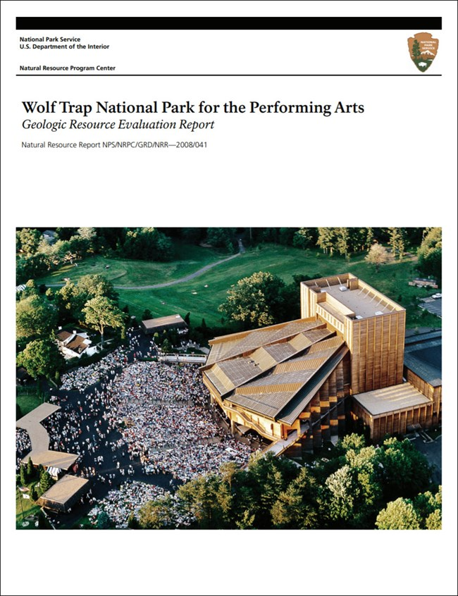 image of wolf trap gri report cover with photo of Filene Center