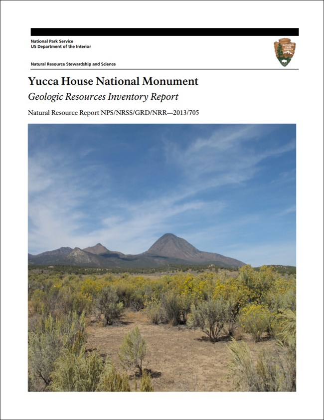 image of yucca house gri report cover with landscape photo