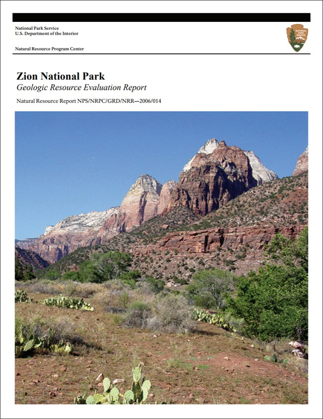 zion report cover with landscape image
