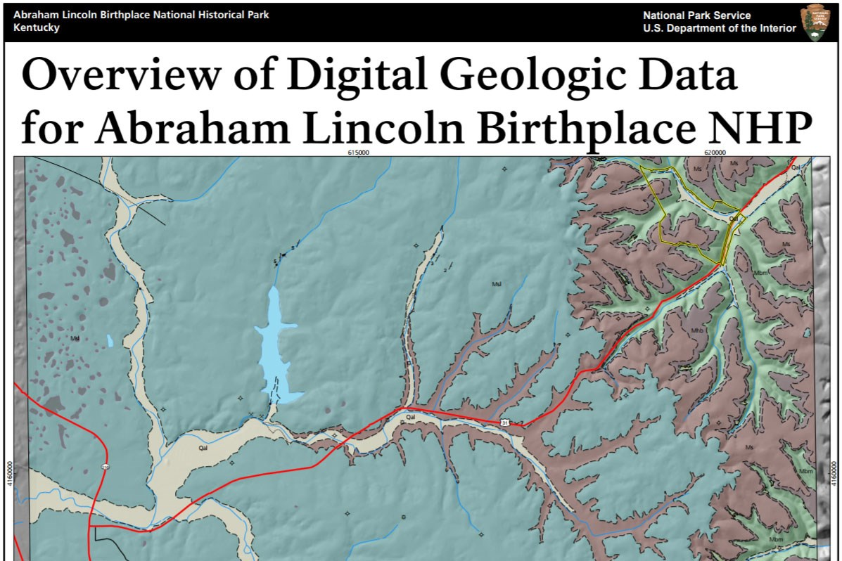 abraham lincoln birthplace geologic map