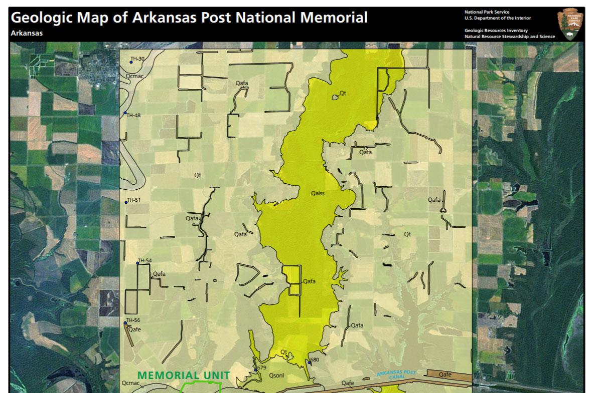 NPS Geodiversity Atlasu2014Arkansas Post National Memorial Arkansas (U.S. National Park Service)